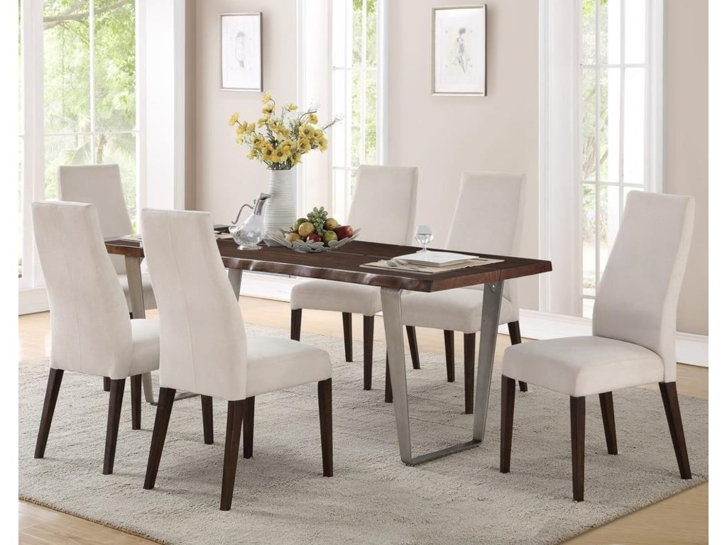 Emerald Sommerville7-Piece Dining Table Set