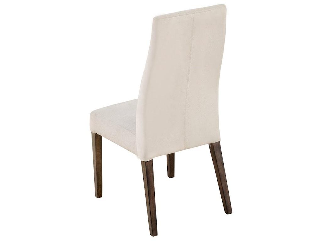 Emerald SommervilleParson Side Chair w/ Upholstered Seat & Back