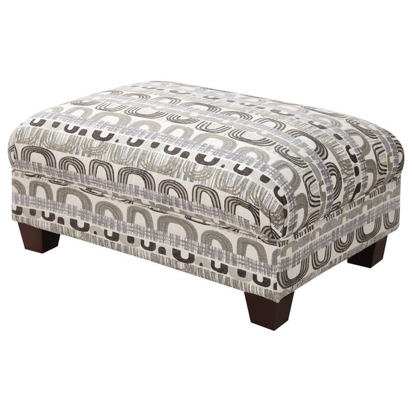 Urbana accent cocktail ottoman by emerald
