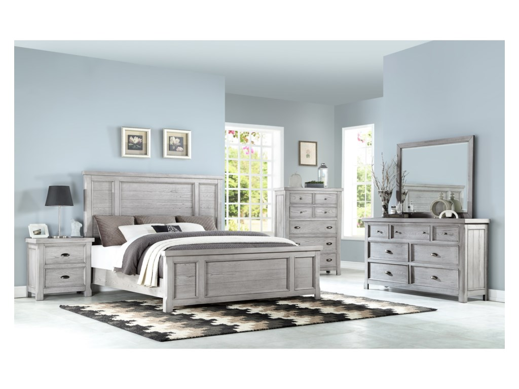 Emerald Warwick IIKing Bedroom Group