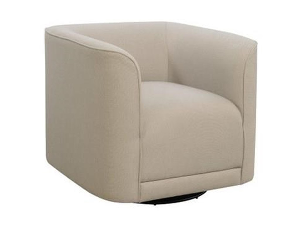 Emerald WhirlawaySwivel Accent Chair