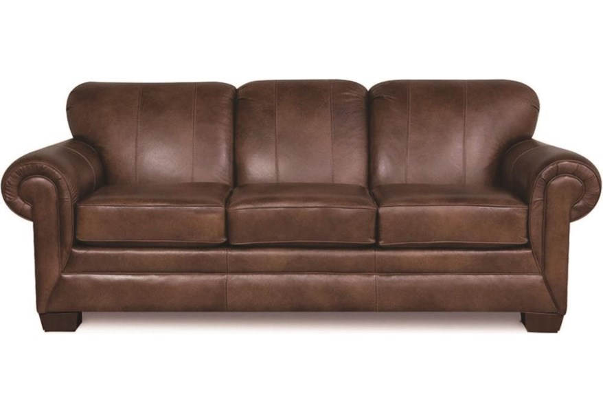 England 1435 100 Leather Sofa Darvin Furniture Sofas