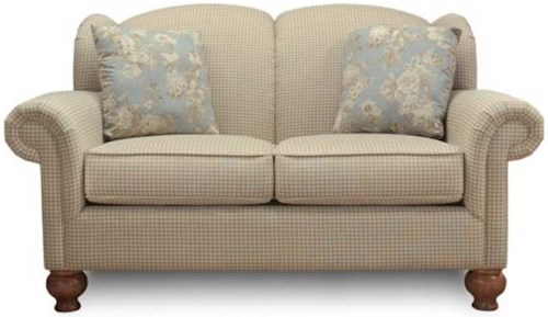 England Fairview Wing Back Love Seat