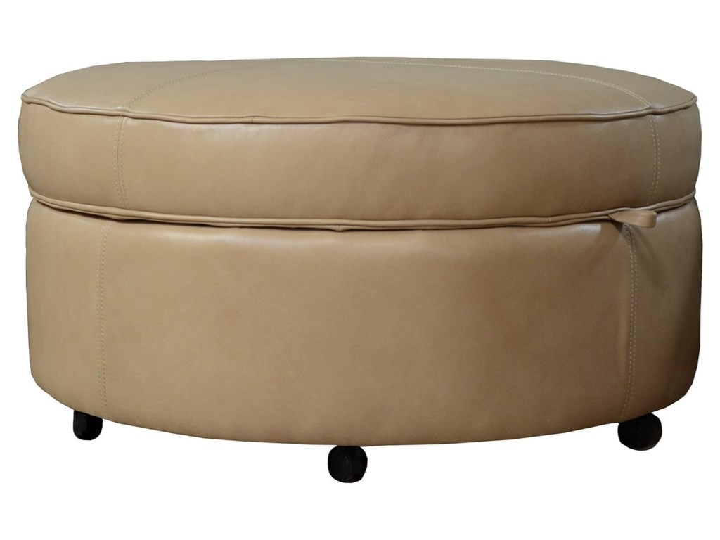 England AudenUpholstered Storage Ottoman