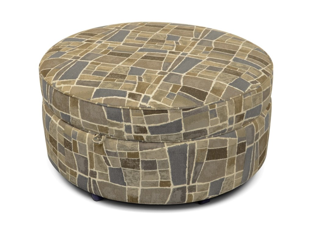 England AllisonRound Storage Ottoman