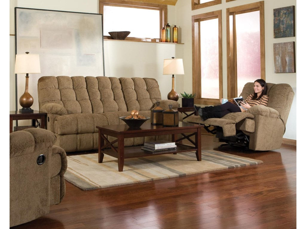 Shown with Coordinating Collection Recliner. Sofa Shown May Not Represent Exact Features Indicated.