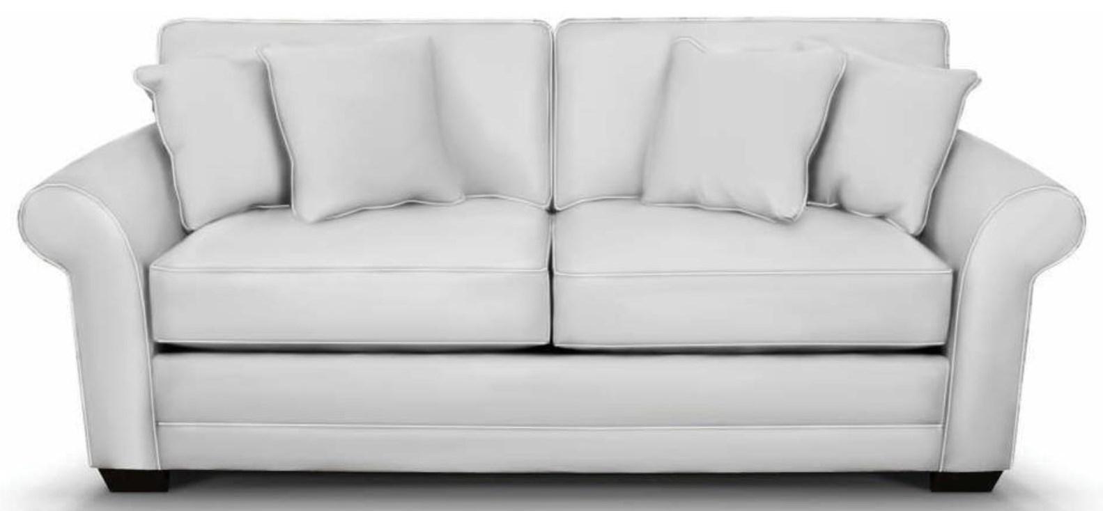 England Brantley Traditional Rolled Arm Queen Sleeper Sofa Reeds Furniture Sleeper Sofas
