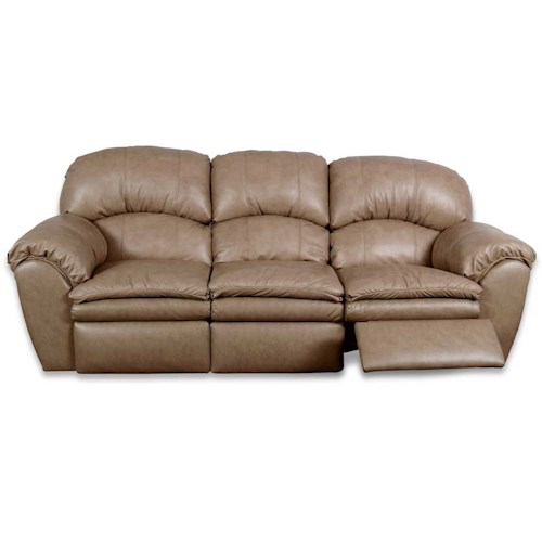 England Oakland Power Leather Reclining Sofa