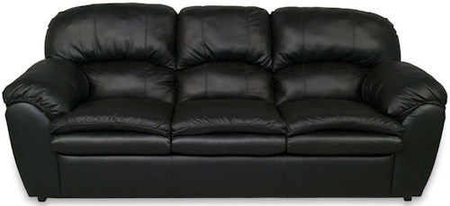 England Oakland Leather Sofa Sleeper