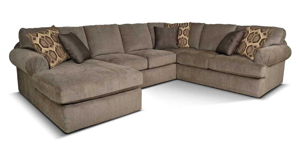 England Abbie Left Chaise Sectional Sofa with Large Cushions - Furniture and ApplianceMart - Sofa Sectional  sc 1 st  Furniture and ApplianceMart : sectional cushions - Sectionals, Sofas & Couches