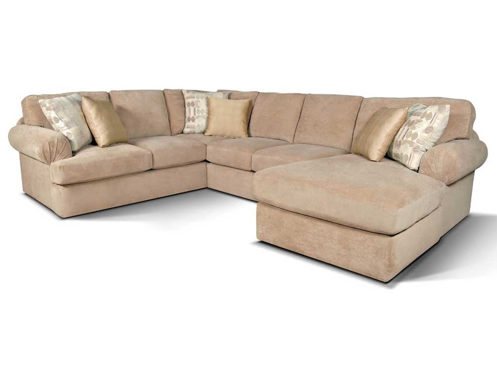 England AbbieSectional Sofa with Right Chaise