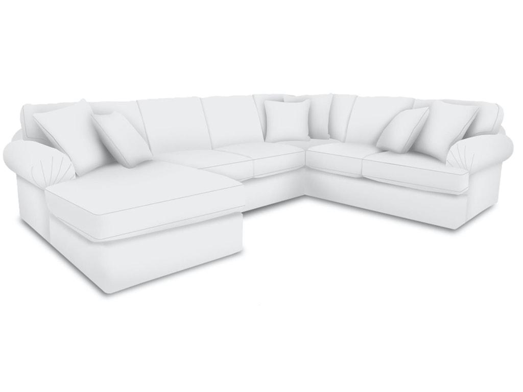England Abbie3 Piece Sectional Sofa