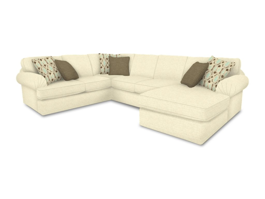 England Abbie3 Piece Sectional Sofa