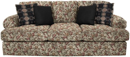 England Abbie Sofa with Large Pleated Arms