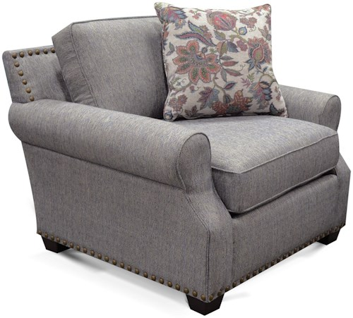 England Adele Chair with Nailheads