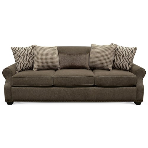 England Adele Sofa with Nailheads