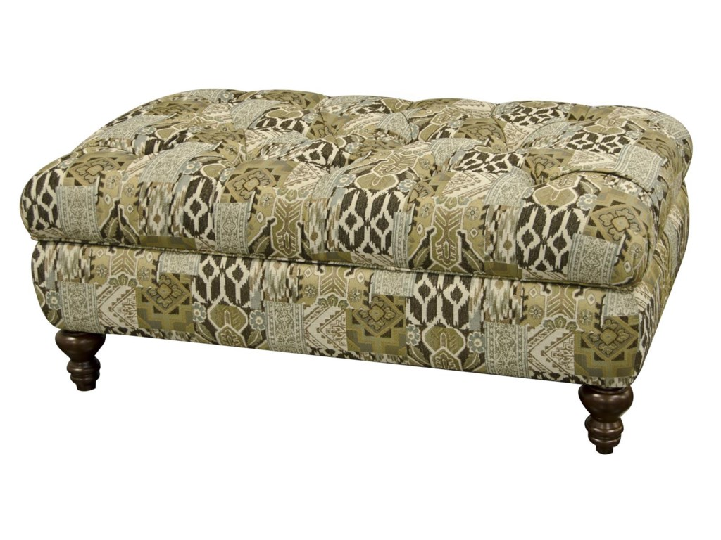 England AllureOversized Storage Ottoman