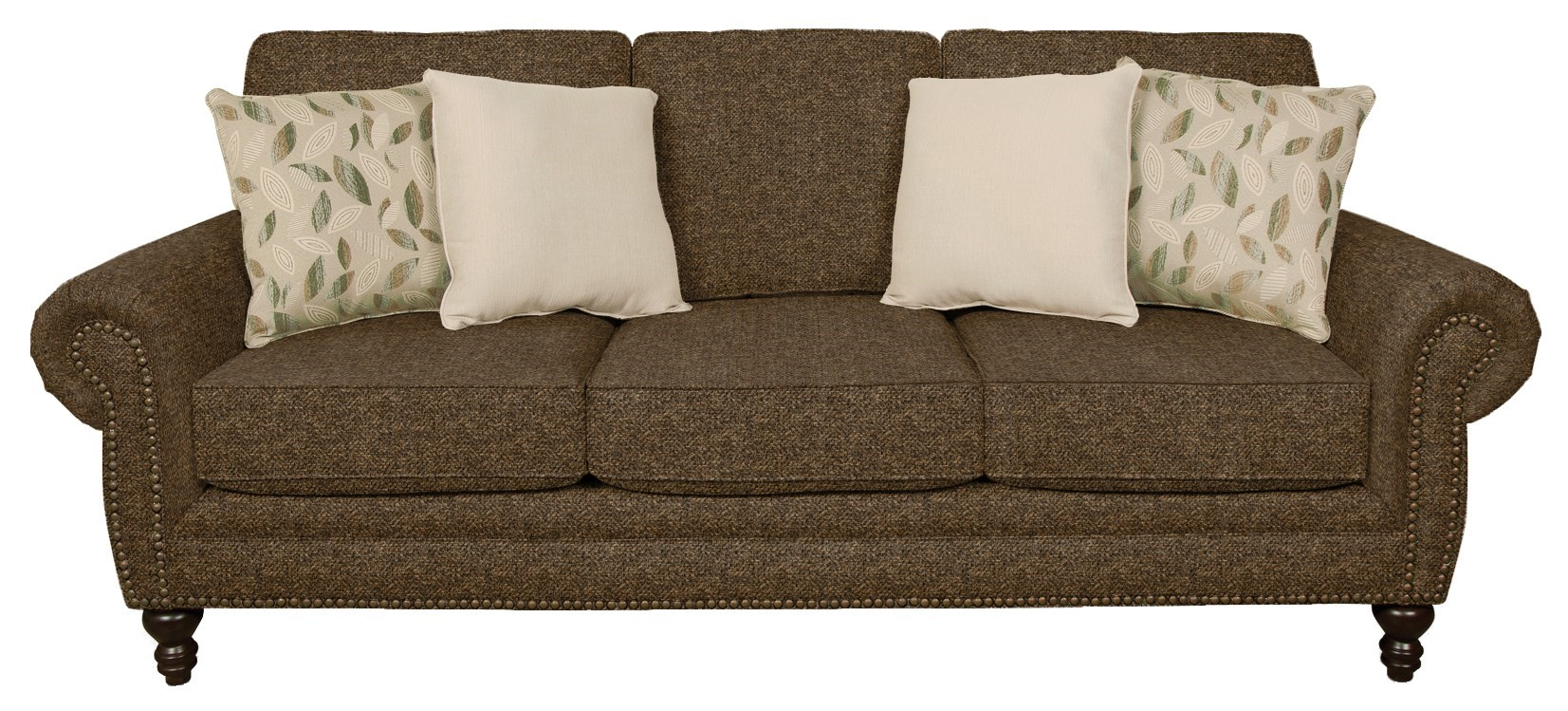 England Amix Traditional Styled Sofa With Nail Head Trim
