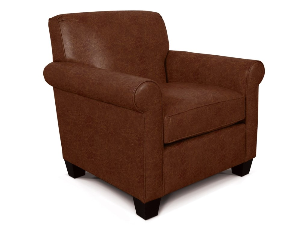 England LillyCasual Rolled Arm Chair