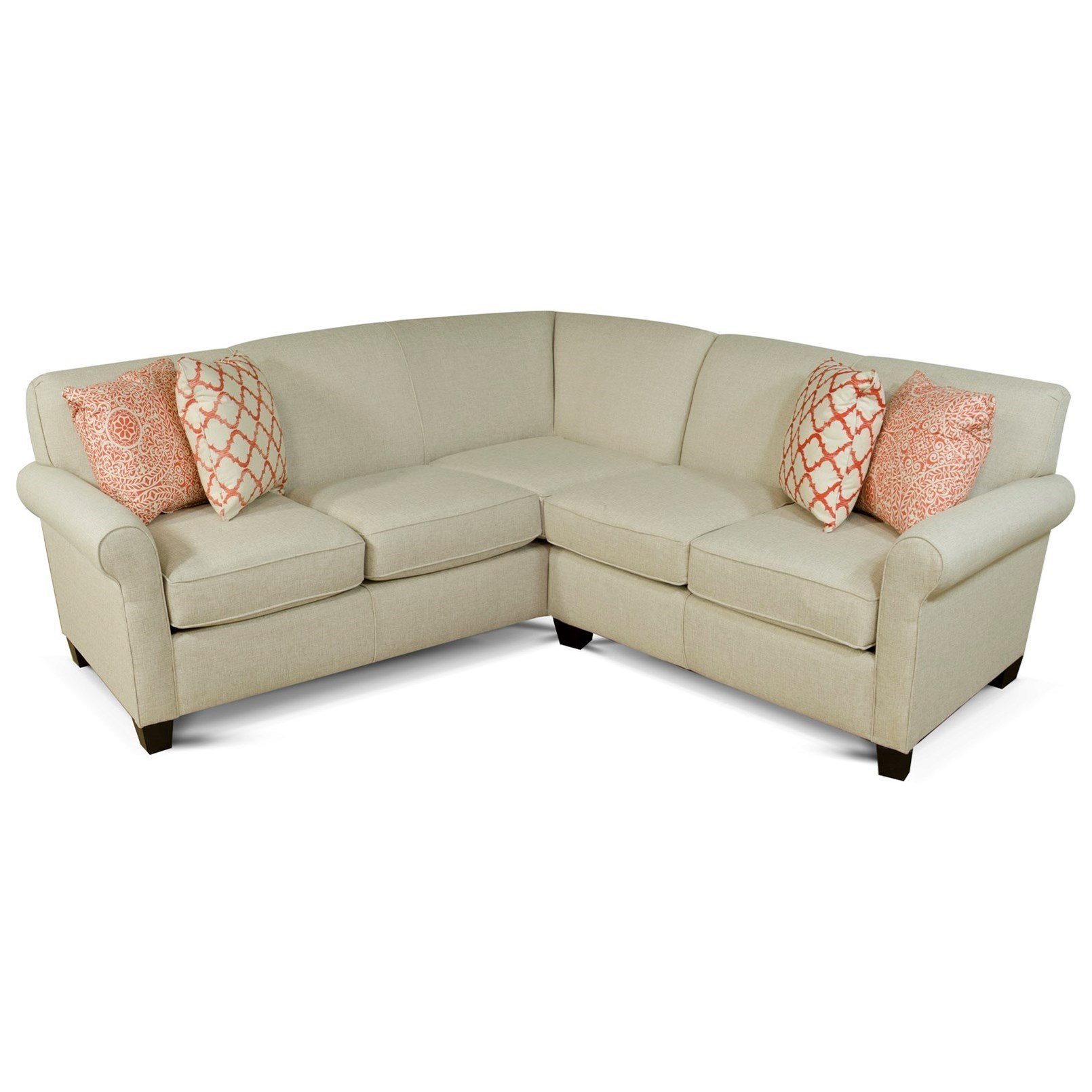 Delicieux Angie Small Corner Sectional Sofa By England