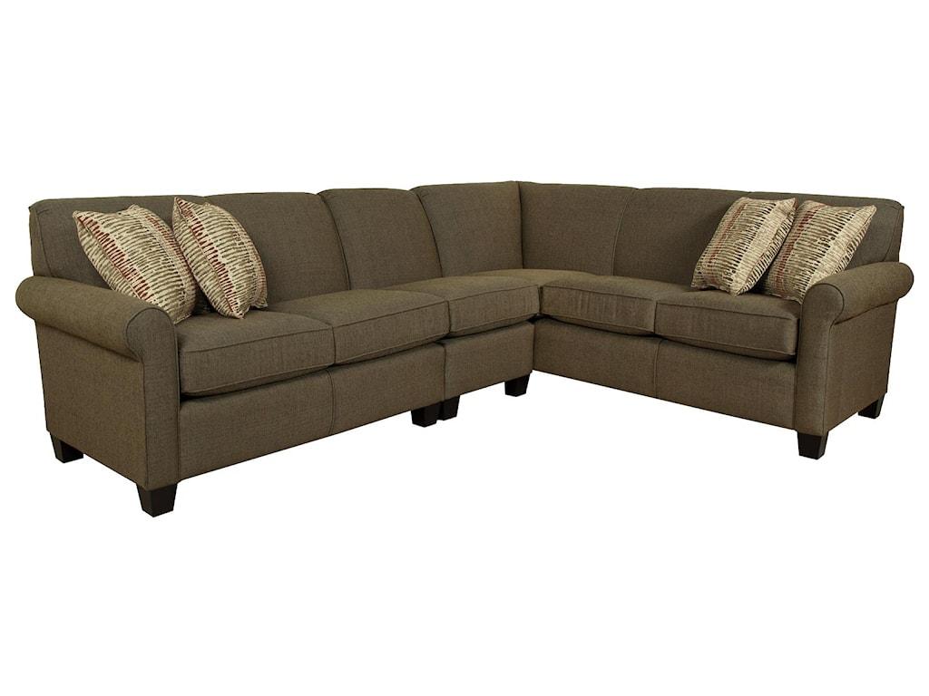 England Angie Large Corner Sectional Sofa | Pilgrim ...