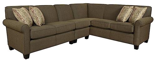 England Angie  Large Corner Sectional Sofa