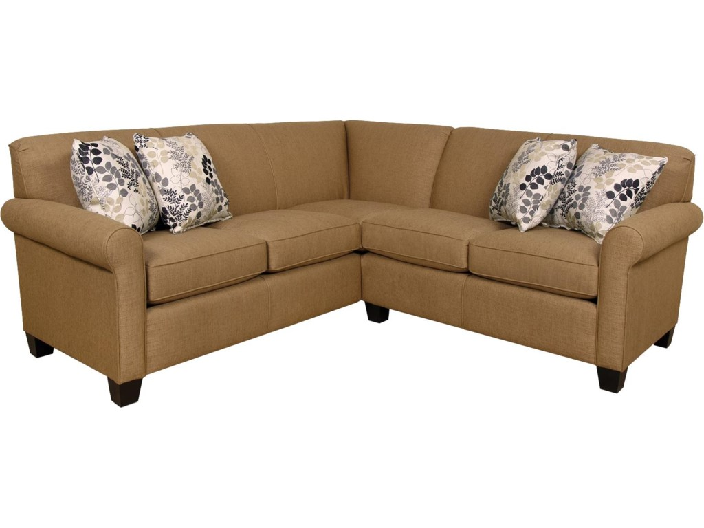 Design Corner Sectional Sofa england angie small corner sectional sofa dunk bright furniture sofas