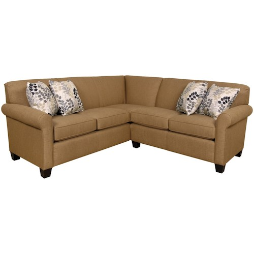 England Angie Small Corner Sectional Sofa Boulevard Home