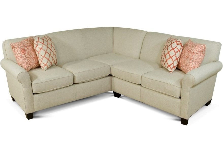 Angie Small Corner Sectional Sofa