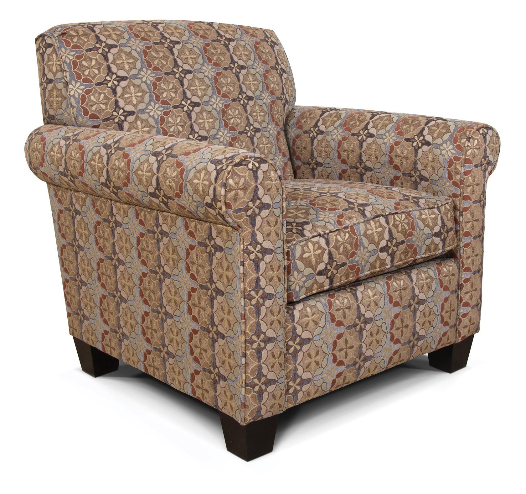 Delicieux England Angie Casual Rolled Arm Chair ...