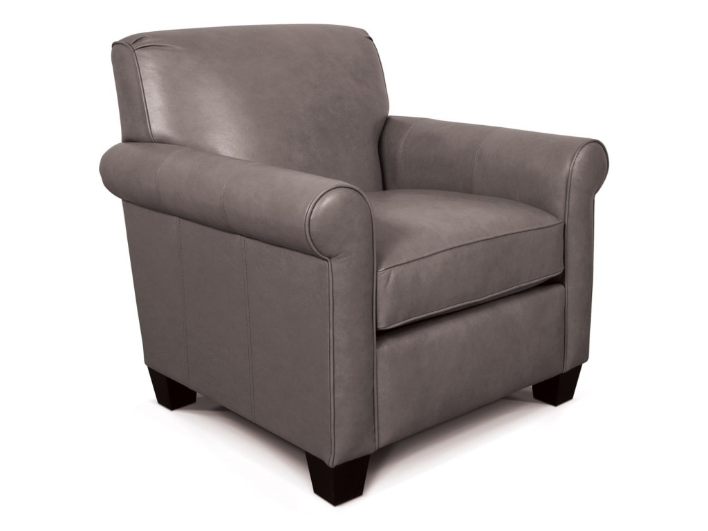 England Angie Casual Rolled Arm Chair