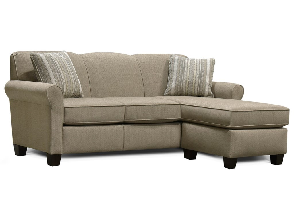 England Angie Sectional Sofa with Floating Ottoman