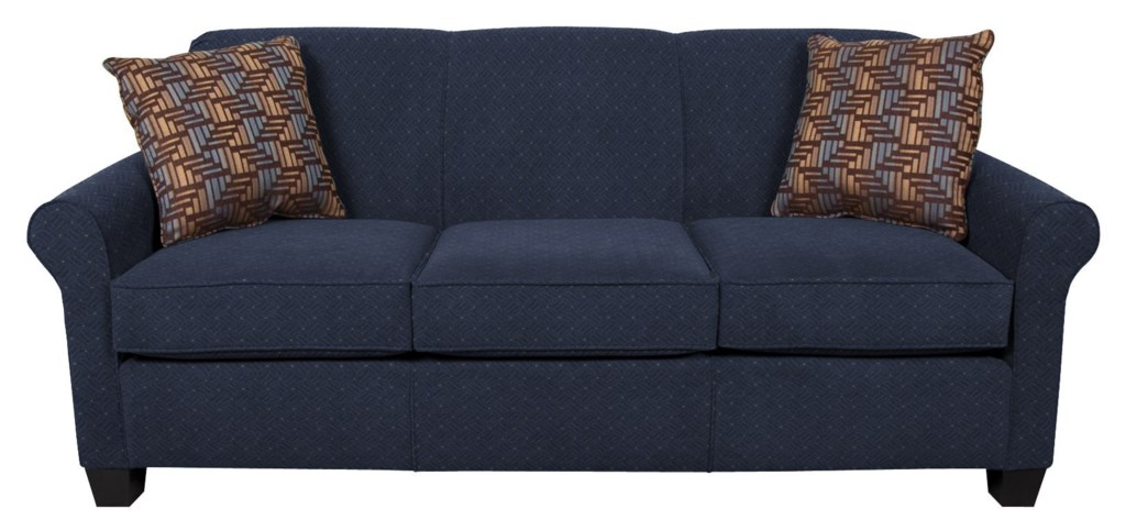 England Angie 4639 Queen Sleeper Sofa With Accent Cushions