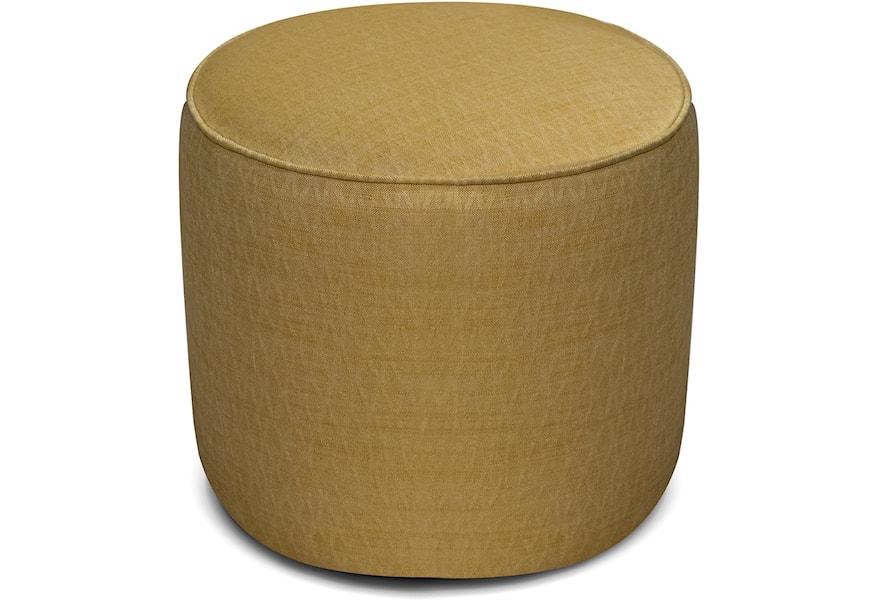 England Asher 9j07s Small Round Ottoman Dunk Bright Furniture