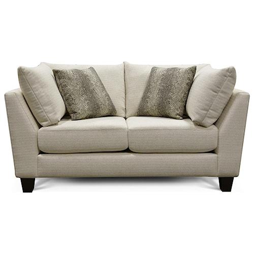 England Beetina Contemporary Love Seat