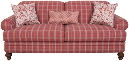 England Bill Three Person Sofa in Casual Cottage Style