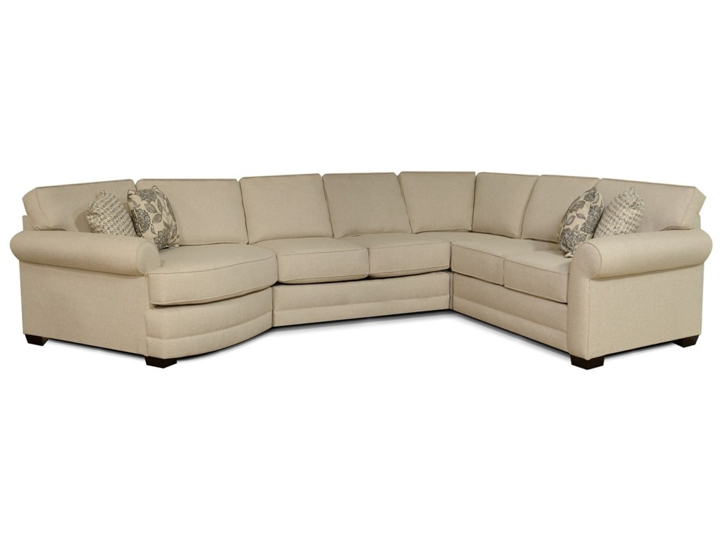 England Brantley4-Piece Sectional