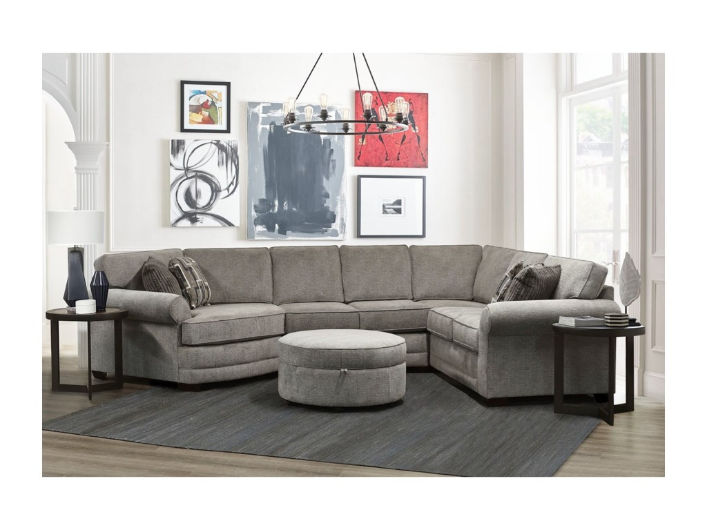 England The A Series4-Piece Sectional