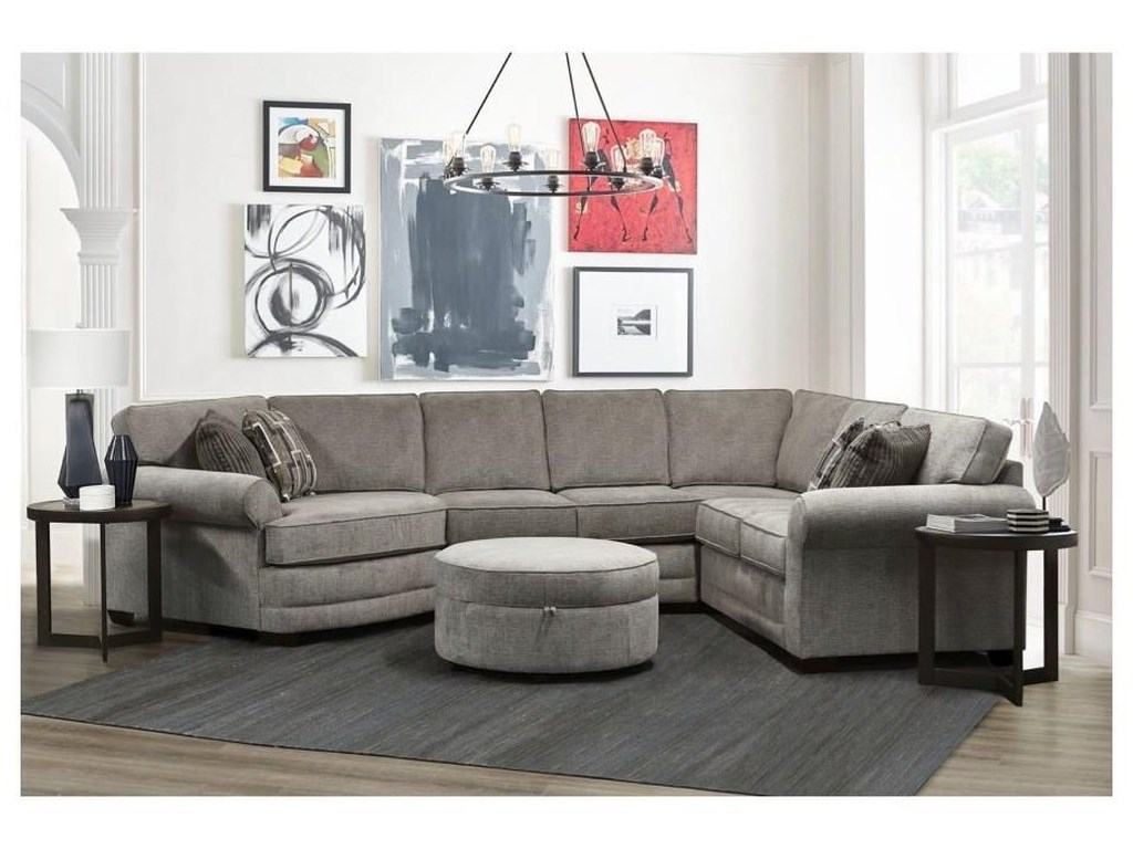 England AlisonSectional with Cuddler