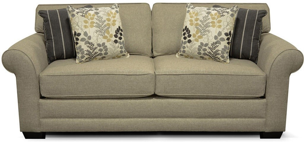 Queen Sleeper Sofa with Comfort 3 Mattress