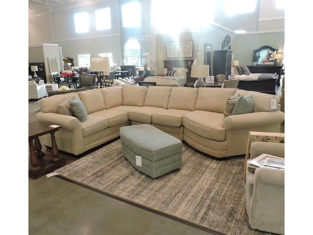 Brantley Sectional by England at Belfort Furniture
