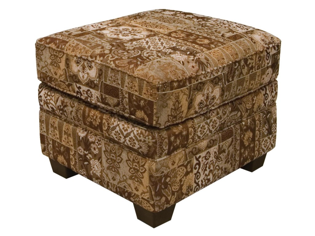 England BrettWelted Ottoman
