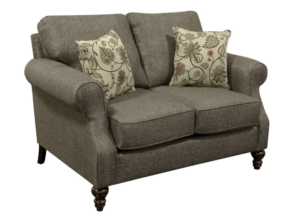 England Brinson and JonesSmall Scale Loveseat