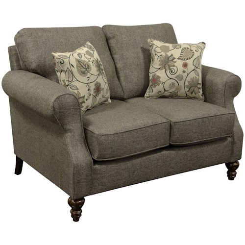England Brinson and Jones Small Scale Loveseat