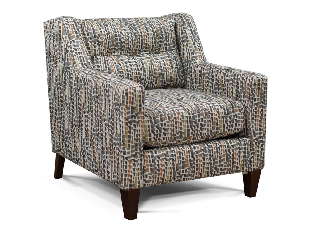 England BrodyTufted Back Chair