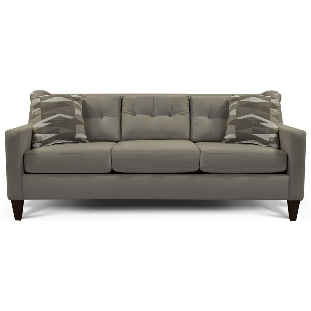 Brody tufted back sofa by england