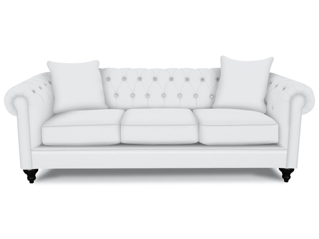 England BrooksChesterfield Sofa with Nailheads