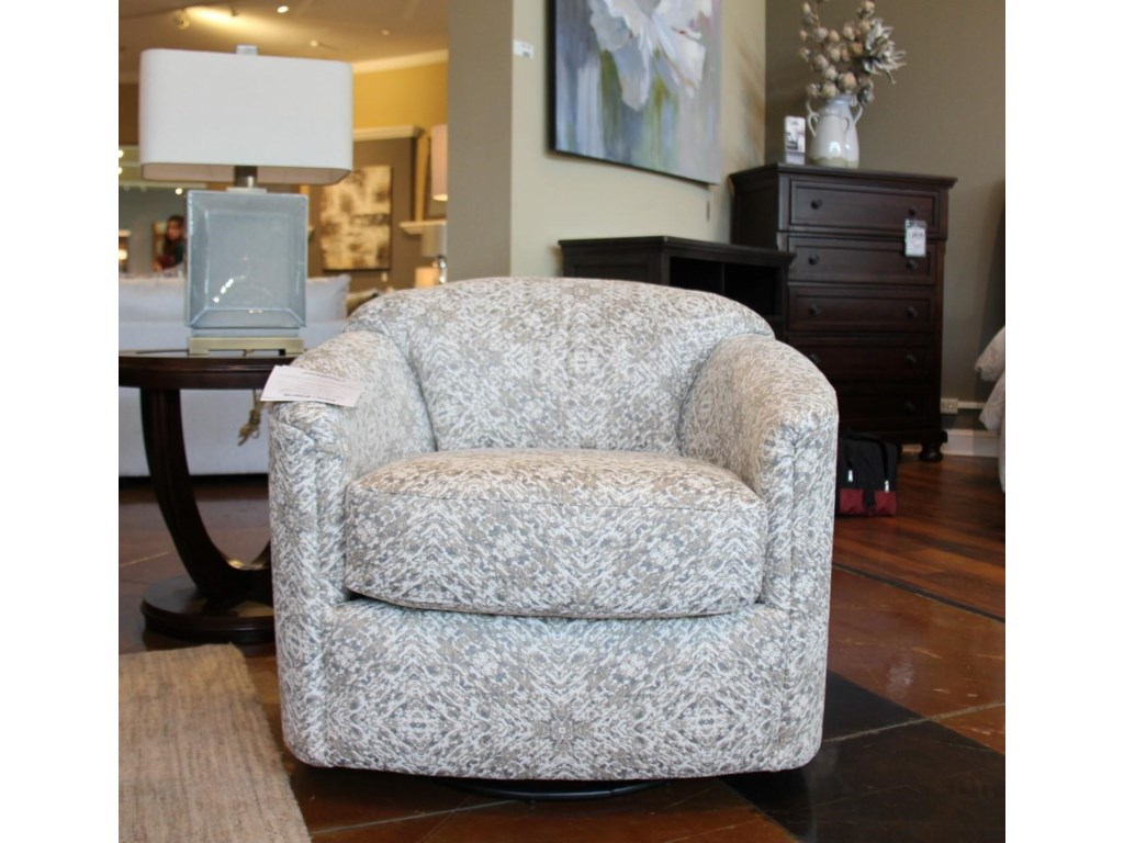 England CamdenSpin City Flannel Swivel Glider Chair