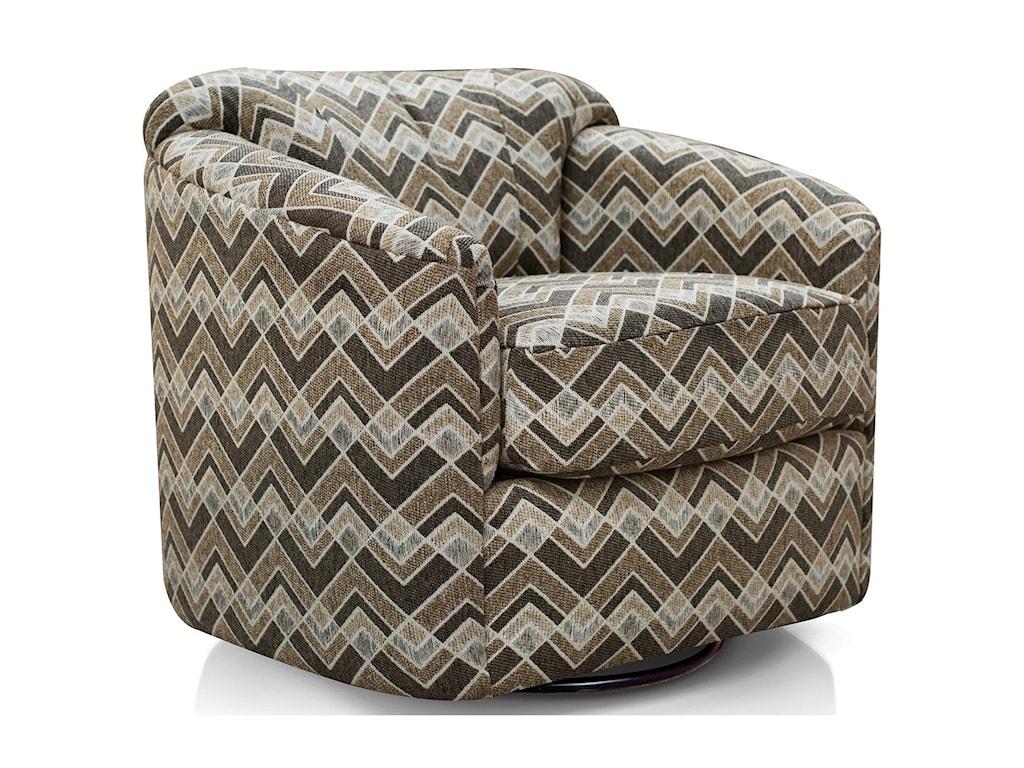 England BarrellSwivel Chair