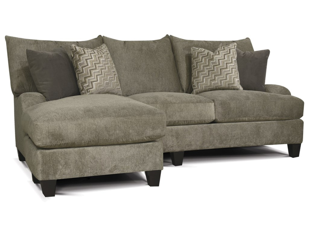 England Catalina Contemporary Sofa With Floating Otto Chaise